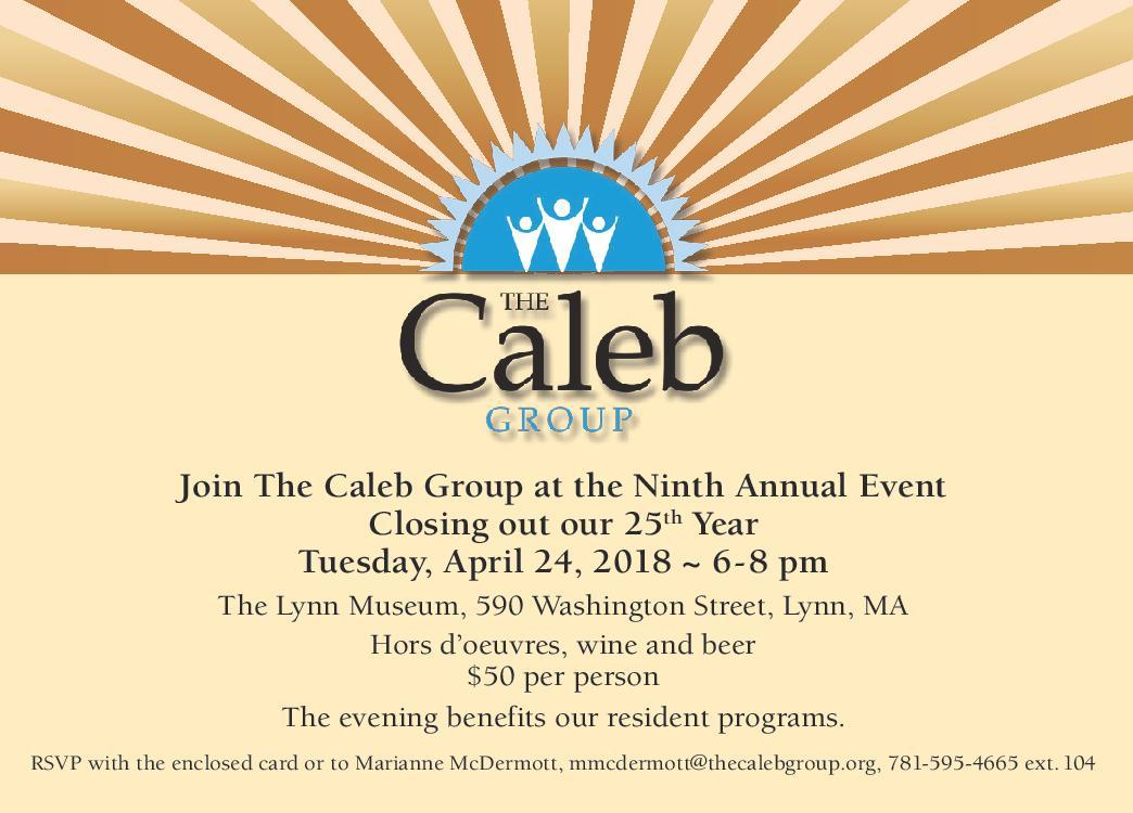 Caleb - 2018 Invitation - Front