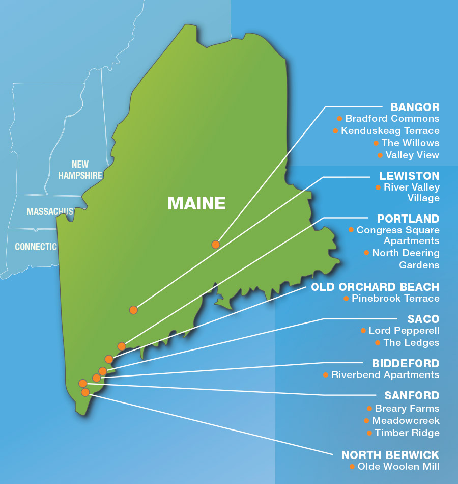 Apartments In Maine New Hampshire: The Caleb Group